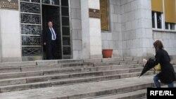 Ulaz u Parlament Crne Gore