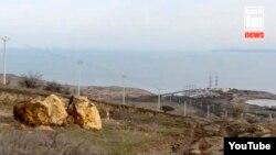 «Енергоміст» до Криму, скріншот відео з сайту «Керчь.ФМ»