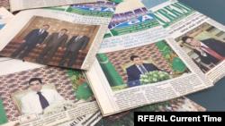 Türkmenistanda çap edilýän döwlet gazetleri