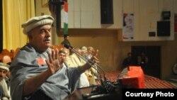 د پښتونخوا ملي عوامي ګوند مشر محمود خان اڅکزی