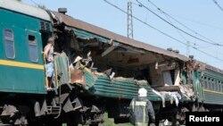 Pamje nga aksidenti i sotëm në Rusi