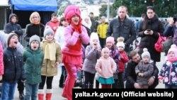 Новогодние мероприятия в Ялте, 2 января 2017 года