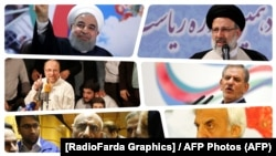 İranda prezidentliyə namizədlər.