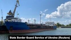 نفتکش روسی نیکا اسپیریت که از سوی اوکراین توقیف شده است