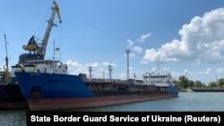 Petrolierul rusesc, redenumit Nika Spirit, sechestrat de Ucraina în Portul Ismail. Nava se numea Neyma în timpul incidentului din Strâmtoarea Kerci, când trei nave militare ucrainene au fost reținute, cu tot cu echipaj, de Rusia.