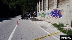 Migranti koji su u petak ujutro autobusima krenuli iz Sarajeva prema Izbjegličkom centru u Salakovcu, vraćeni su sa područja Hercegovačko-neretvanskog kantona