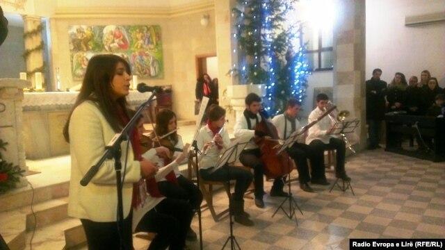 Proslava Božića u Prištini