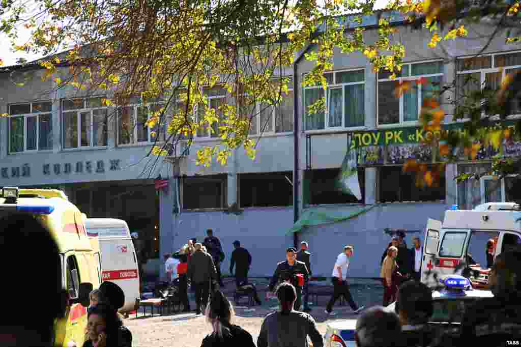 Rusiye terrorizmge qarşı milliy komiteti bildire ki, kollecde bomba patlatıldı