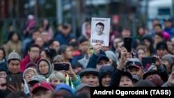 Протест против незаконных задержаний и фальсификации на выборах в Бурятии