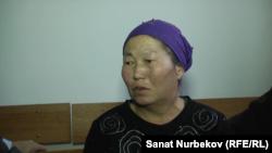 Мать Тлека Табарака Айса Насилханкызы. Жаркент, 16 января 2020 года.
