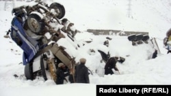 File photo of an avalanche near Panjshir.