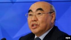Kyrgyz Ex-President Askar Akaev