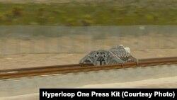 Первый тест технологии Hyperloop в Неваде, США