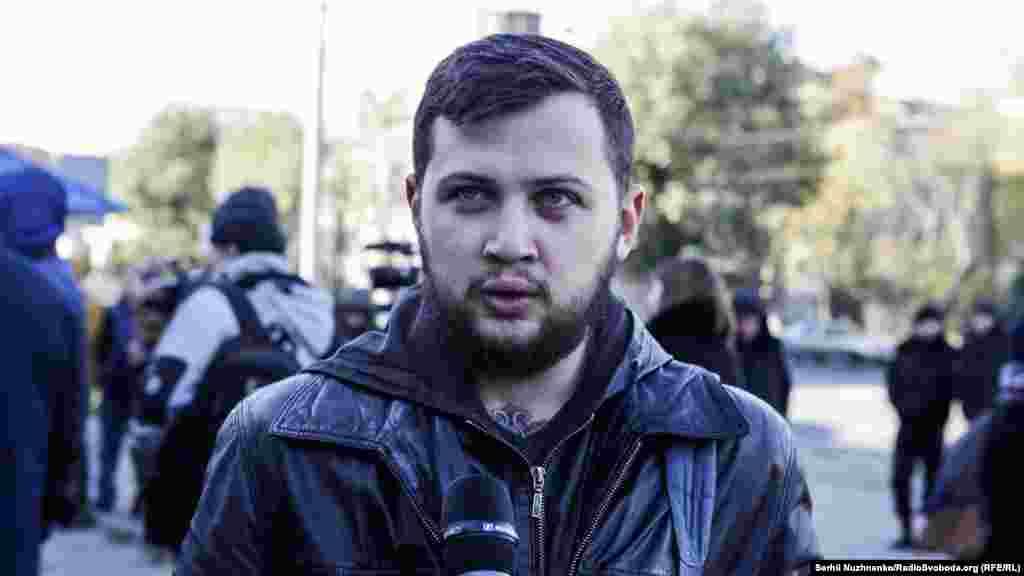 Геннадий Афанасьев, бывший политзаключенный, который почти два года находился в застенках российских тюрем за то, что выступил против аннексии Крыма.