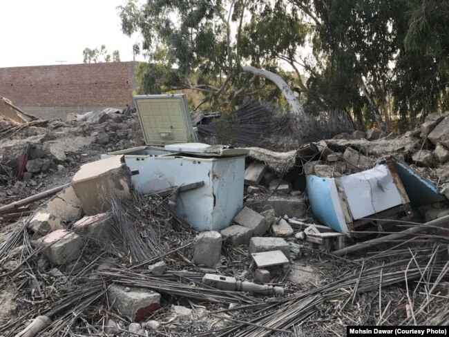 FILE: Many houses in Dande Darpakhel and across North Waziristan were destroyed.
