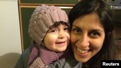 خانم زاغری در فروردین ۹۵، زمانی که با کودک خردسالش قصد بازگشت از ایران را داشت، بازداشت شد.