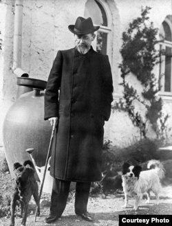 Антон Чэхаў у Ялце, 1901