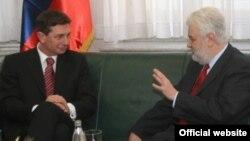 Borut Pahor i Mirko Cvetković u Beogradu, 6. marta 2009