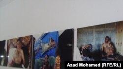 جانب من معرض الصور القصصية في السليمانية