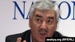 Генеральный секретарь Общенациональной социал-демократической партии Амиржан Косанов. Алматы, 23 декабря 2011 года.