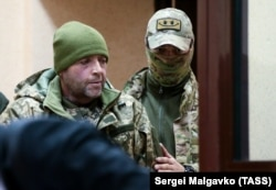 Один із українських моряків під час обрання запобіжного заходу, 27 листопада