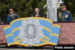 Правительственный сайт Марий Эл. Во время парада 9 мая 2020 года