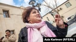 Журналист и корреспондент Азербайджанской редакции Хадиджа Исмаилова.