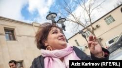 Azerbaijan. Baku. RFERL journalist Khadija Ismayil