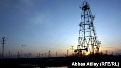 Ադրբեջան - Նավթահորեր Բաքվի արվարձաններից մեկում