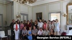 Участники одной из предыдущих встреч грузино-осетинского гражданского форума