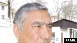 Sharif Nazarov, couch of Tajik Olympic football team