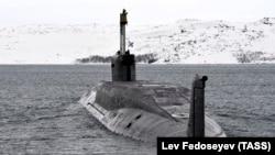 A Russian Borei-class nuclear submarine (file photo).