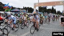 Bakıda «Tour d'Azerbaidjan» beynəlxalq velosiped turu - 6 may 2015