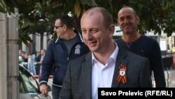 Jedan od lidera opozicionog DF Milan Knežević