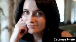 Анастасія Дашкевіч, грамадзкая актывістка, у мінулым адна зь лідэраў «Маладога Фронту». (Наста Палажанка)