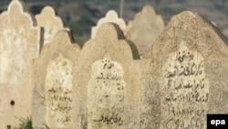 شواهد قبور ضحايا عمليات الأنفال في العراق