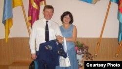 Полковник Юлий Мамчур с супругой