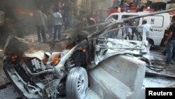 وزیر کشور لبنان بمبگذاری در خودرو را تایید کرده است