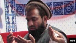 File photo of Zaki-ur Rehman Lakhvi.
