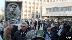 Proruski aktivisti u Donjecku