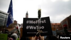 Международный женский день, акция протеста в Сеуле в рамках движения #MeToo