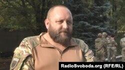 Командир Добровольчого українського корпусу «Правий сектор» Андрій Стемпіцький