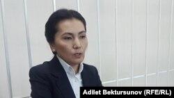 Депутат парламента Кыргызстана Аида Салянова, в прошлом работавшая генеральным прокурором и министром юстиции.