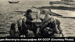 Деревня Заимка Кежемского района, 1959 год (Кежма)