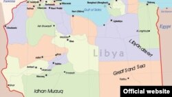 Ливия картасы.
