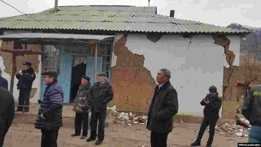 Сила подземных толчков в Кара-Сууйском районе 17 ноября достигла 7 баллов.