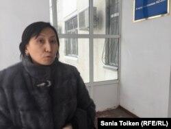 Нурзада Сагынгалиева, свидетель по делу Смадьяровой. Атырау, 7 февраля 2017 года.
