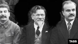 Сталин, Калинин и Молотов