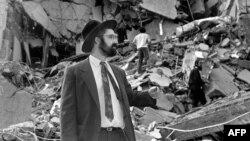 ساختمان خراب شده مرکز یهودیان بوینوس آیرس