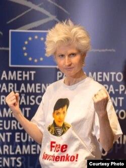 Campania pentru eliberarea pilotului Nadejda Savcenko